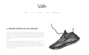 Site internet Union Sportive de Grigny