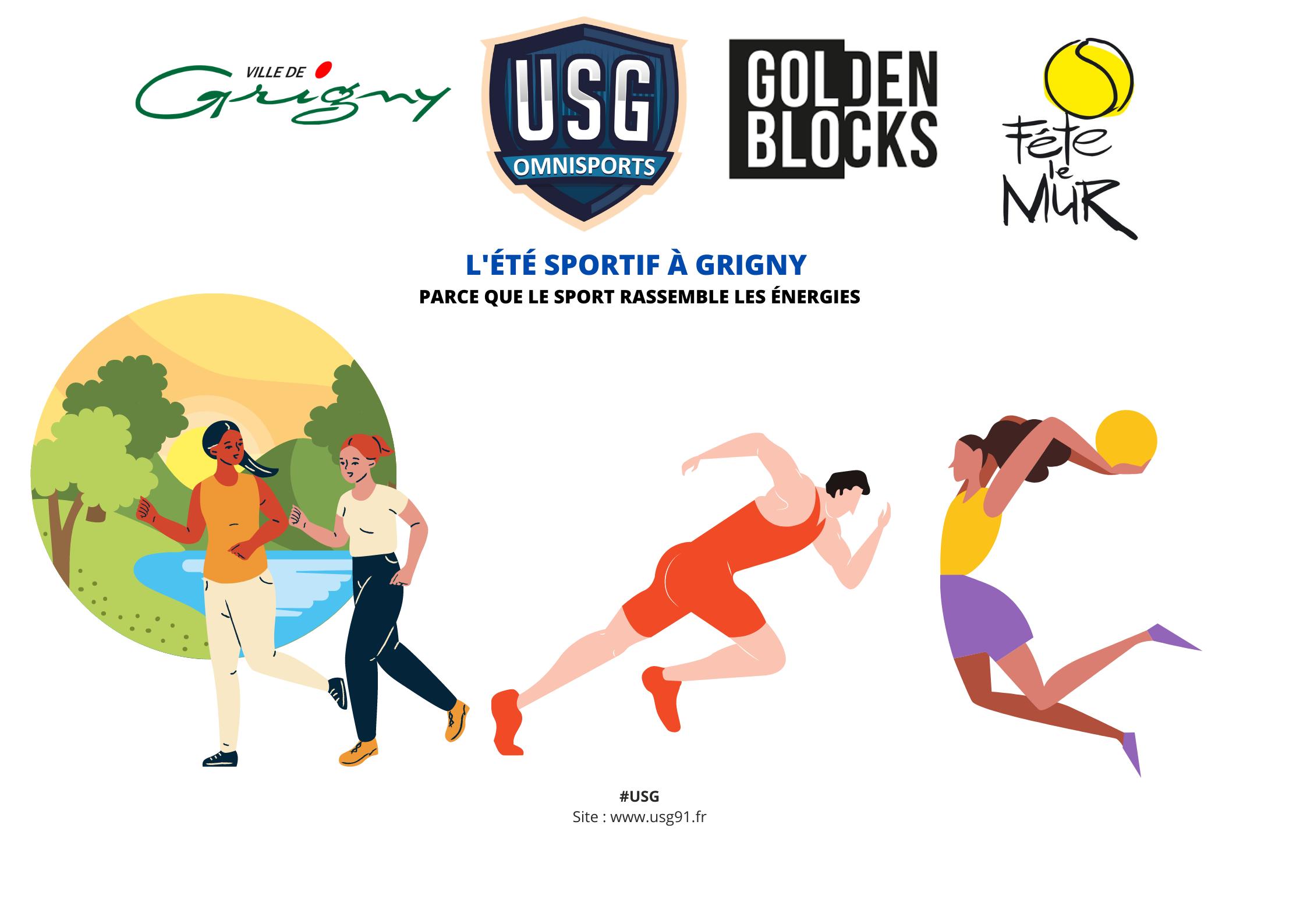 Le dossier du mois : L'été Grignois sera sportif